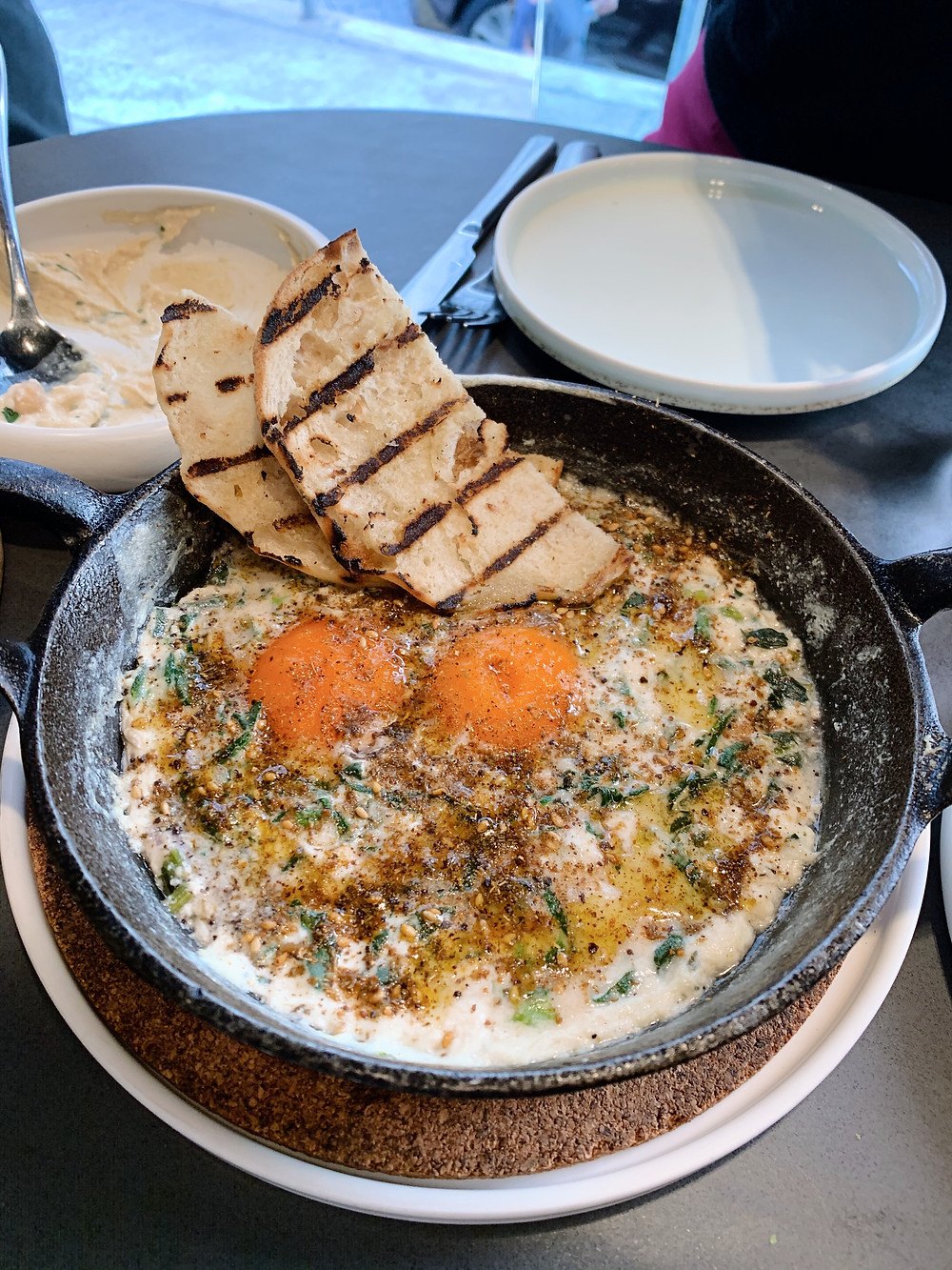 Shakshuka at Francis Middle Eastern restaurant in Wan Chai Hong Kong