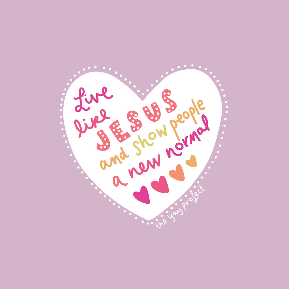 Christian blog graphic on following Jesus by The Yay Project Jenni Lien