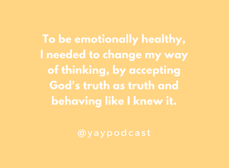 You Are You Podcast Ep 2: How God Used Heartbreak to Teach Me About Emotional Health