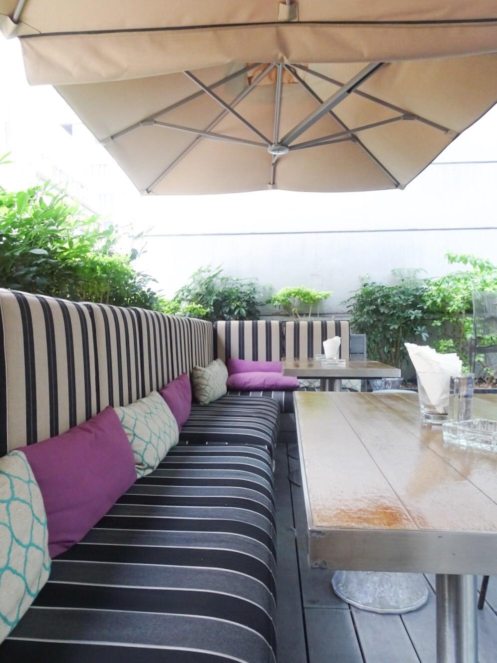 The Envoy restaurant and bar at The Pottinger Hotel Hong Kong