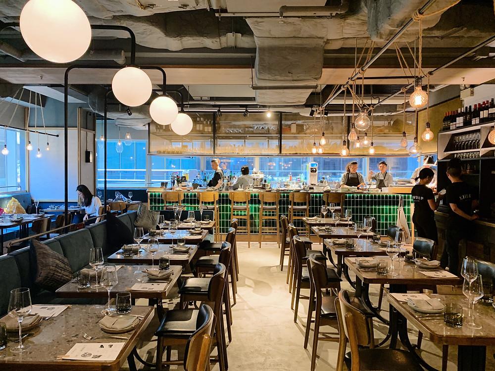 Kinship Restaurant in Hong Kong HK