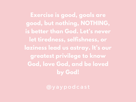 You Are You Podcast Ep 8: Truth-Filled Ways To Enjoy God Every Single Day (Part 1)