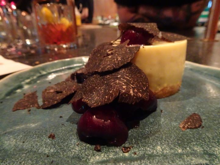 Food at Rhoda restaurant by Chef Nate Green in Hong Kong