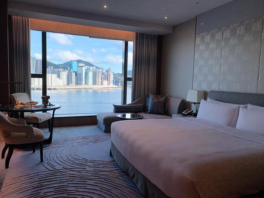 Room at Kerry Hotel Hong Kong
