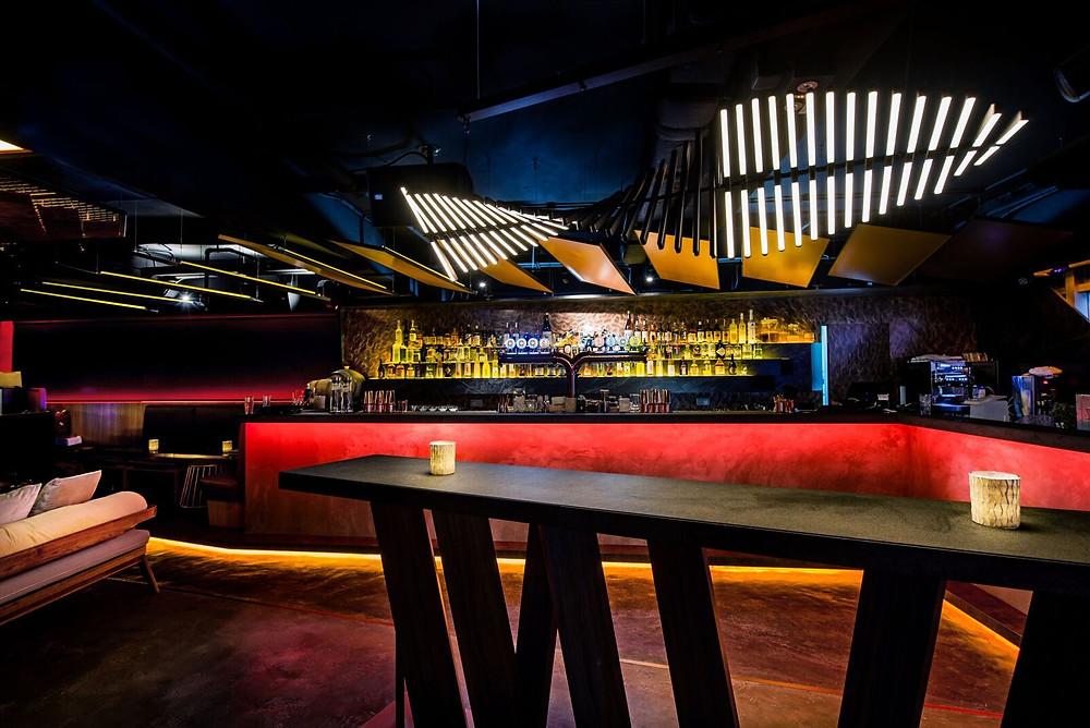 Tenkei bar in Hong Kong