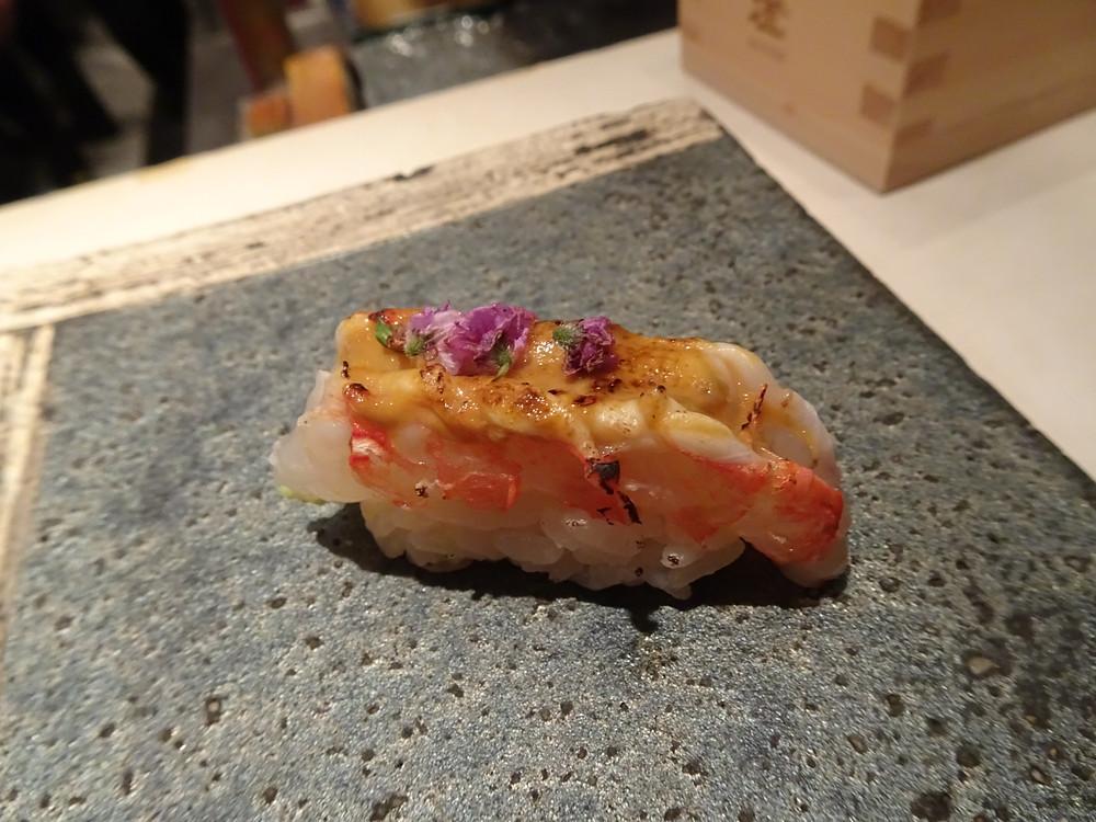 Sushi at Kishoku Japanese restaurant in Hong Kong