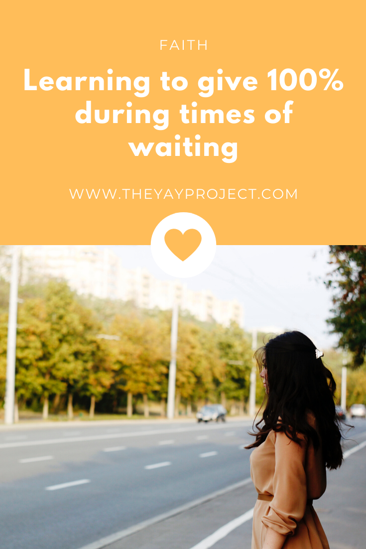 Christian blog on waiting