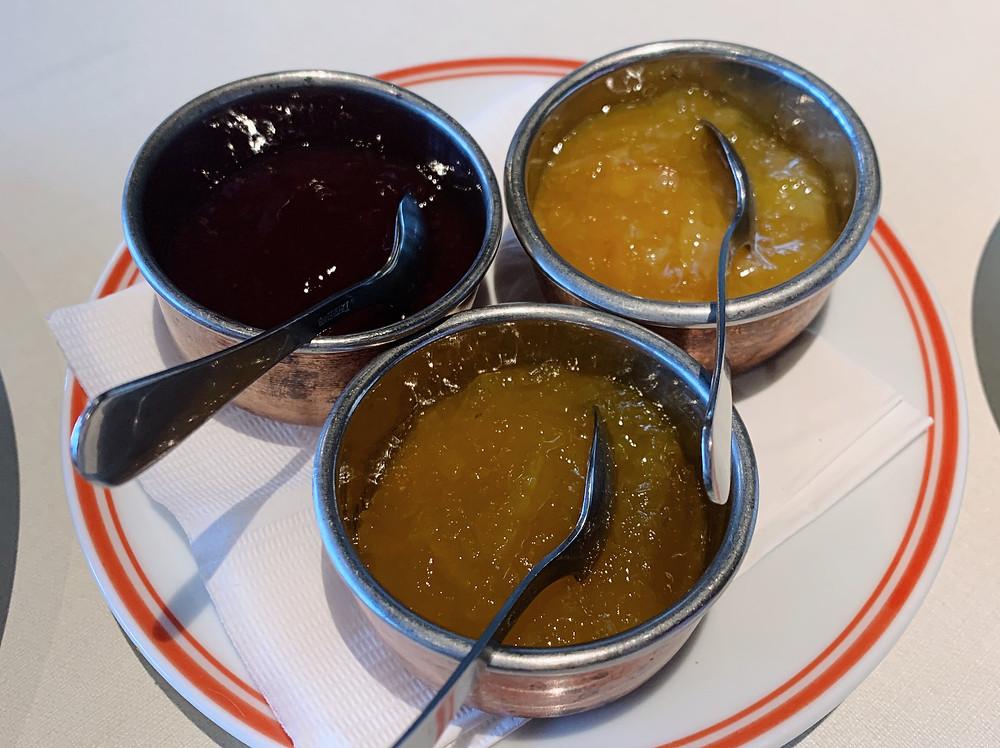 Jam at Rajasthan Rifles restaurant in Hong Kong