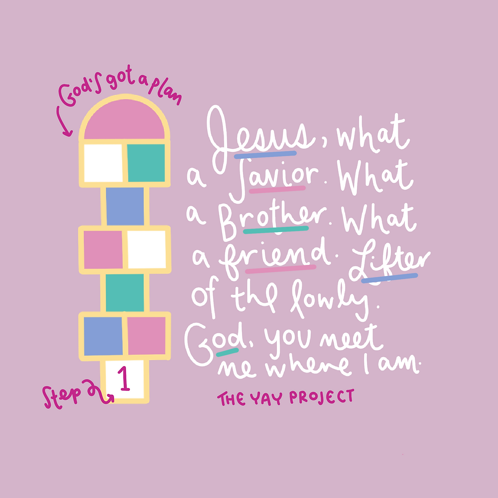 Christian graphic by Jenni Lien of The Yay Project