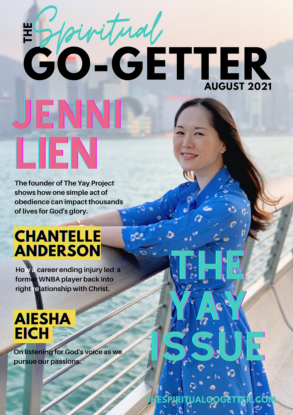 Jenni Lien of The Yay Project in The Spiritual Go-Getter Magazine
