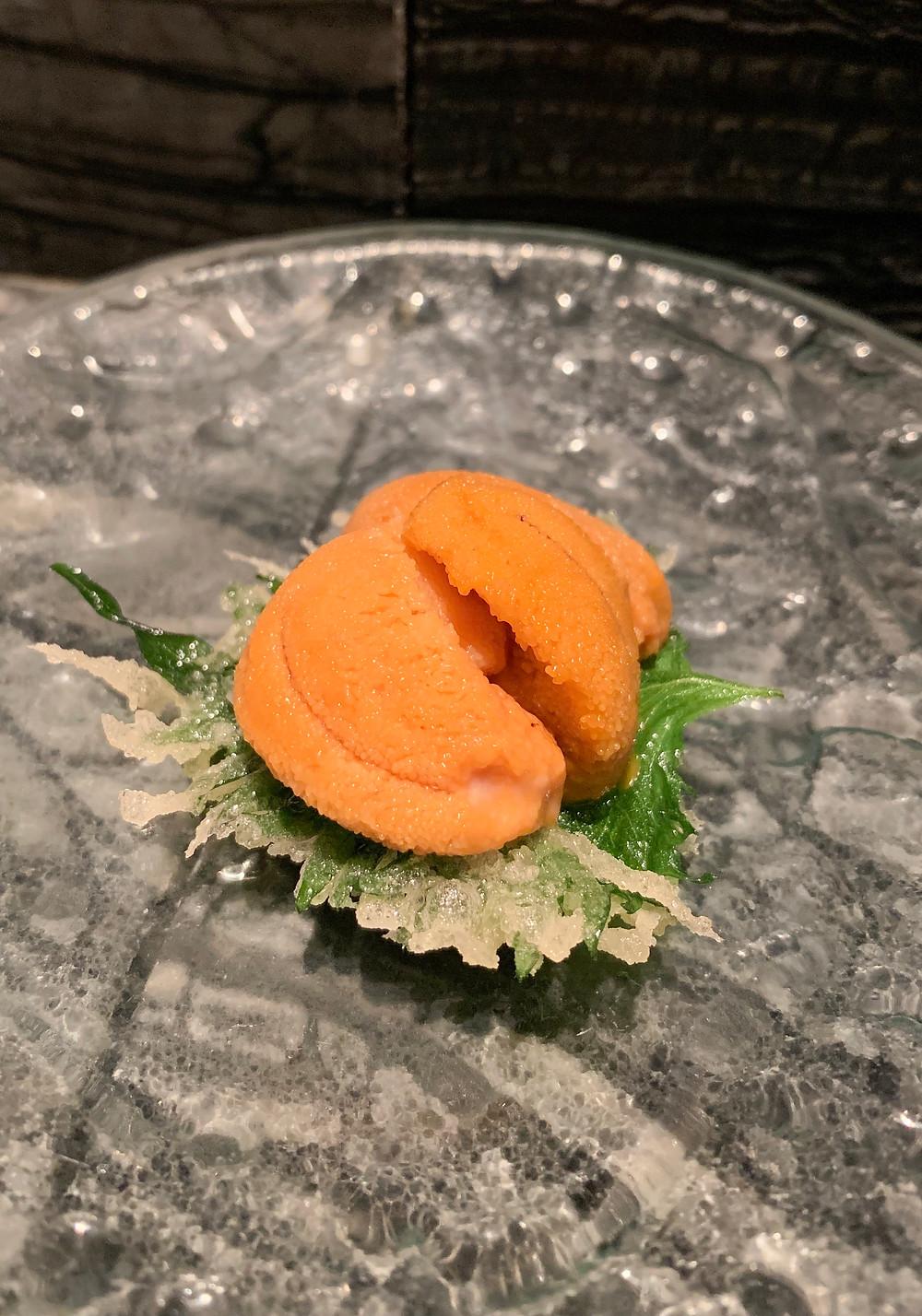 Food at Shikigiku tempura Japanese restaurant