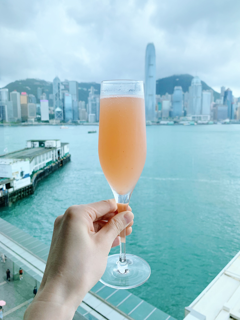 Bellini Cocktail Marco Polo Hotel Hong Kong