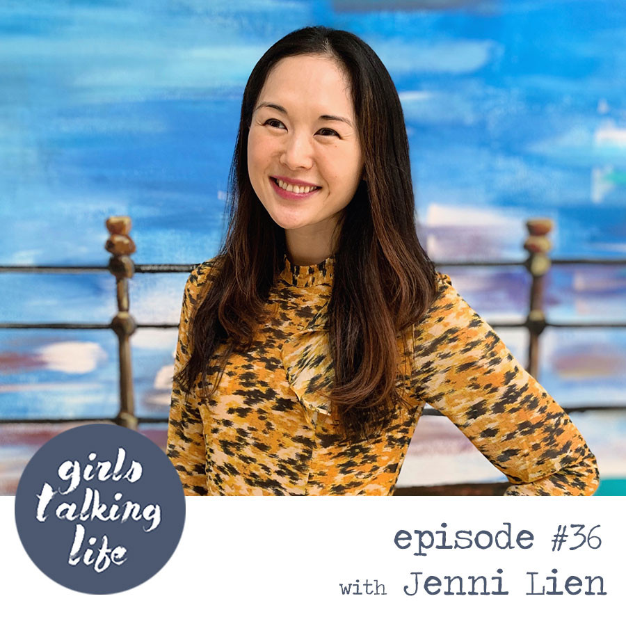 Jenni Lien of The Yay Project on the Girls Talking Life Podcast