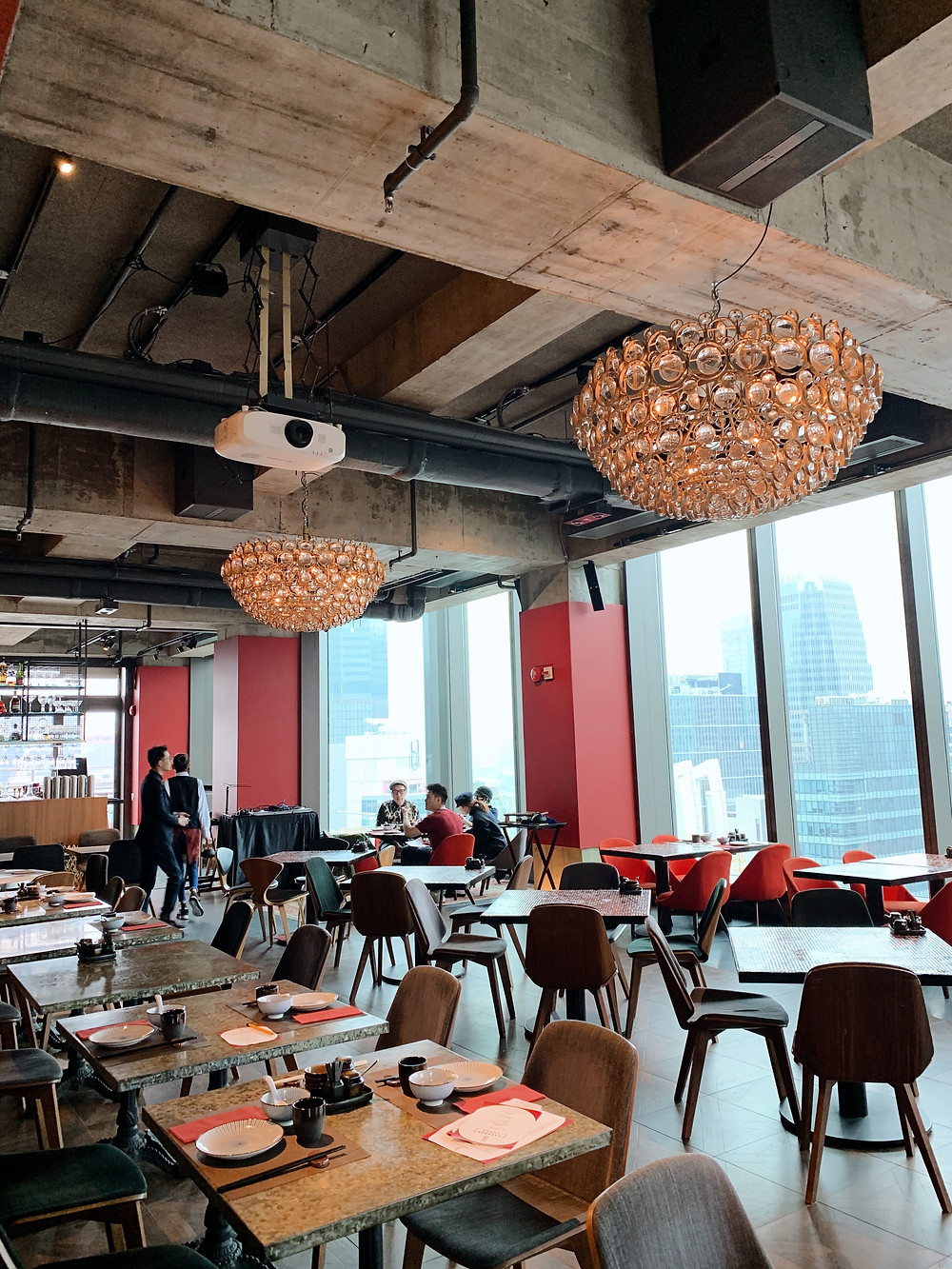 Redhouse restaurant in Hong Kong