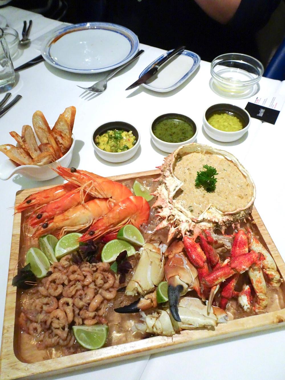 Food at Casa Lisboa Portuguese restaurant in Hong Kong