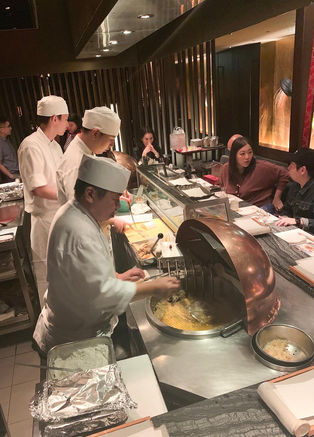 Shikigiku tempura Japanese restaurant