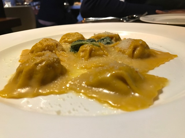 Pasta at Ciao Chow restaurant in Hong Kong