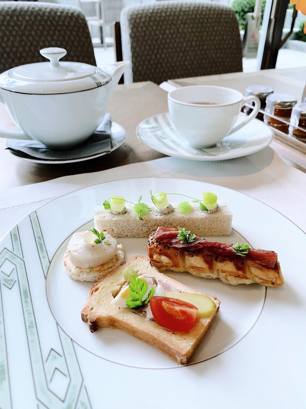 Afternoon tea at St Regis HK Hong Kong