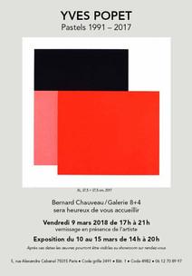 Galerie Bernard Chauveau 8+4, Paris (France) 2018.