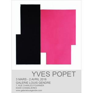 Galerie Louis Gendre Chamalières, (France) 2016