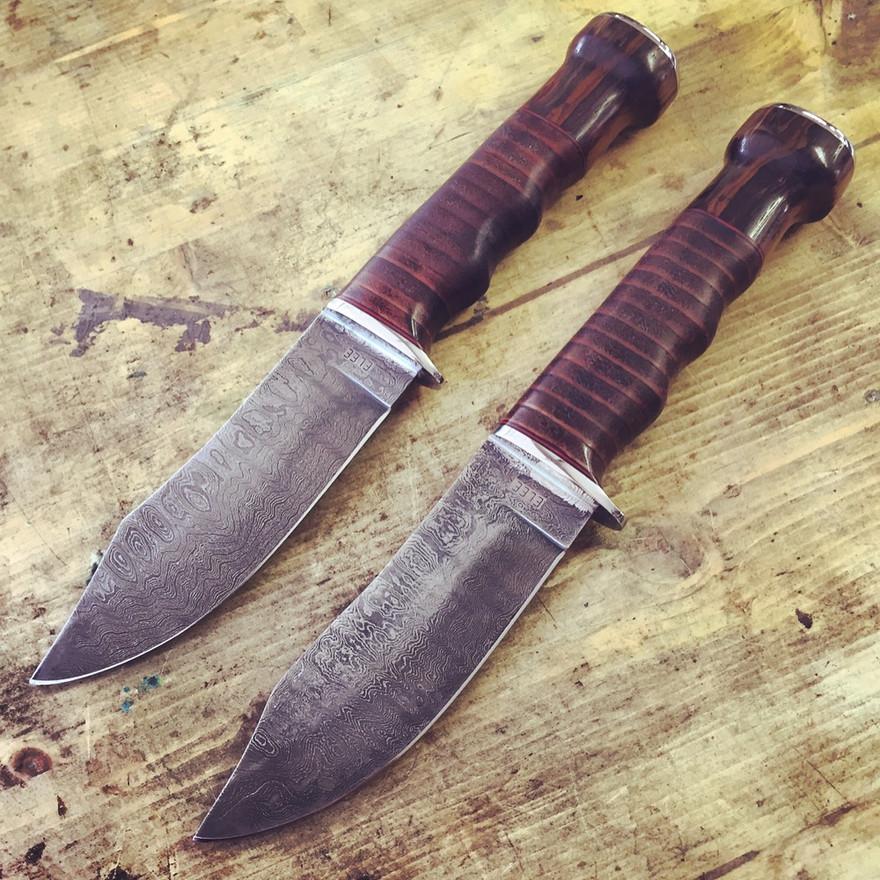 Matching Damascus Hunters