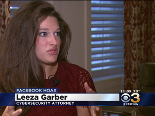 CBS3:  Facebook Privacy Hoax Returns to News Feeds