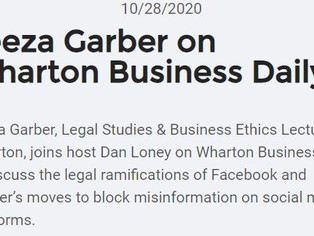 Wharton Business Daily Podcast: Social Media Moderation