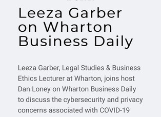 Wharton Business Daily: Covid-19 Contact Tracing Technology