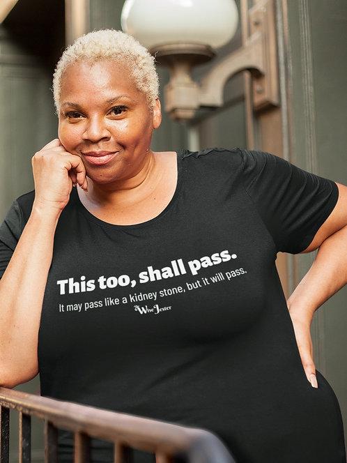 2020 Needs A Reboot woman in black scoop neck short sleeve curvy t-shirt