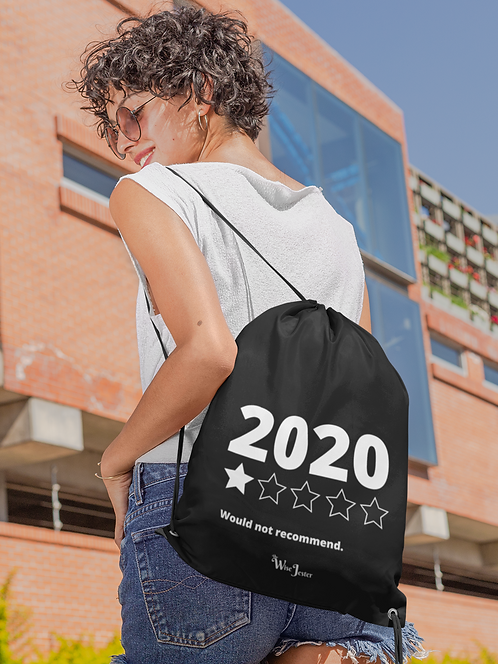 2020 (One out of five stars) Would not recommend. Black drawstring bag with zipper pocket