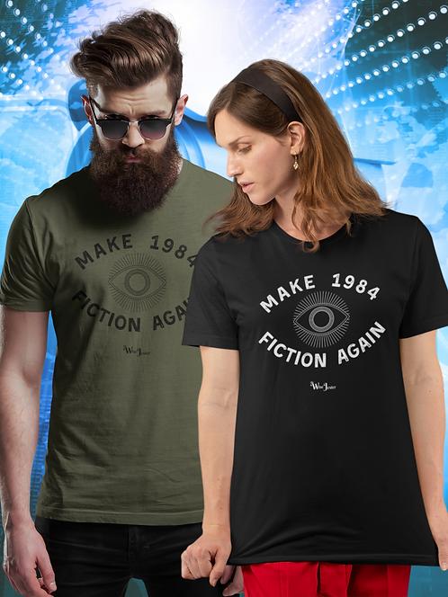 Make 1984 fiction again. Orwell. Surveillance. Censorship. Big tech. Orwellian. Dystopian. Big brother.