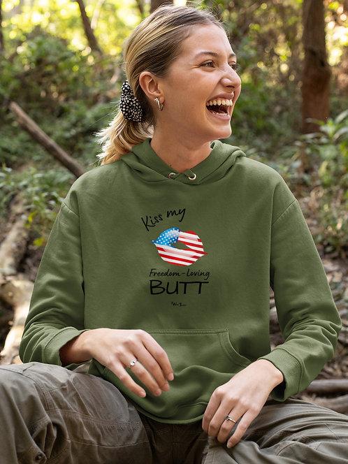 Freedom. Liberty. Constitution. Free American. Kiss my freedom-loving butt. COVID19. COVID19 fraud. Guaranteed liberties.
