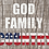 """18""""x24"""" yard sign. God family country. American patriotic yard sign. Religious freedom. Constitutional rights. Political yard"""