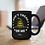 Don't tread on me. 15 ounce black ceramic mug. Patriotic mug. Liberty mug. Freedom mug. COVID freedom. Constitution mug.
