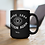Make 1984 fiction again. Orwell 15 ounce black ceramic mug. Surveillance. Censorship. Big tech. Dystopian. Big brother