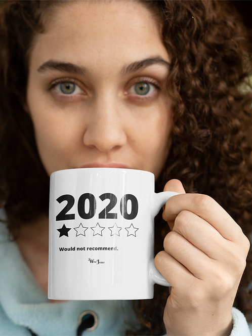 2020 Would Not Recommend. 11 ounce white ceramic mug