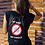 My Body My Choice (No Mask) - woman wearing black drawstring bag with zipper pocket