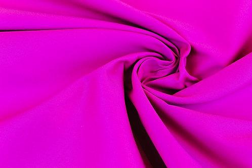 Cotton Viscose Mix Fabric in Fuchsia.