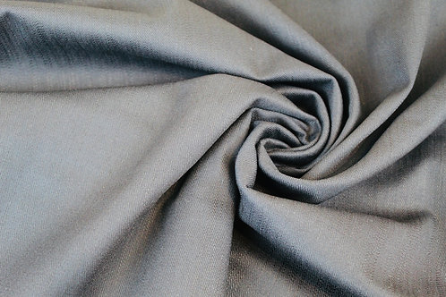 Cotton Elastane Mix Fabric in Navy Blue.