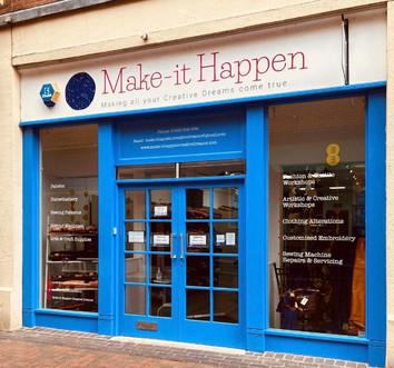 Make-it Happen Shop Front