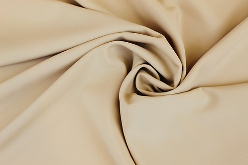 100% Polyester Fabric in Cream.