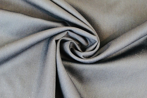Polyester Wool Mix Fabric in Black.