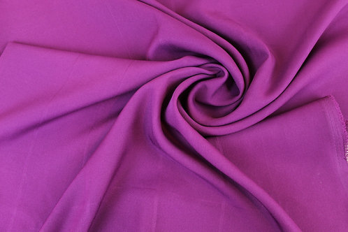 Polyester Fabric in Slight Seconds of Purple.