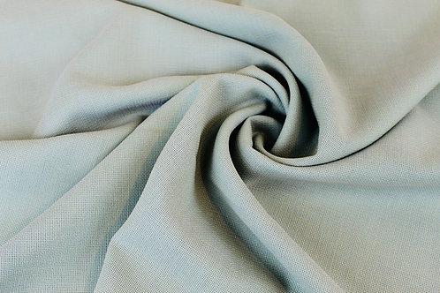 100% Wool Textured Fabric in Seafoam Green.