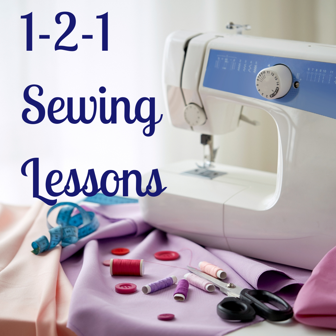 SL03: Machine Sewing Lessons for Adults
