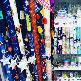 Children's Fabrics & Buttons