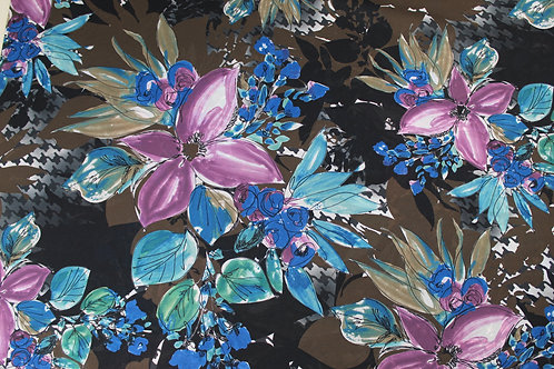 100% Fine Polyester, Light Weight, Sheer, Silky Fabric