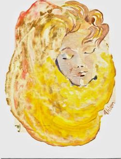 sleeping cocon aquarelle faa