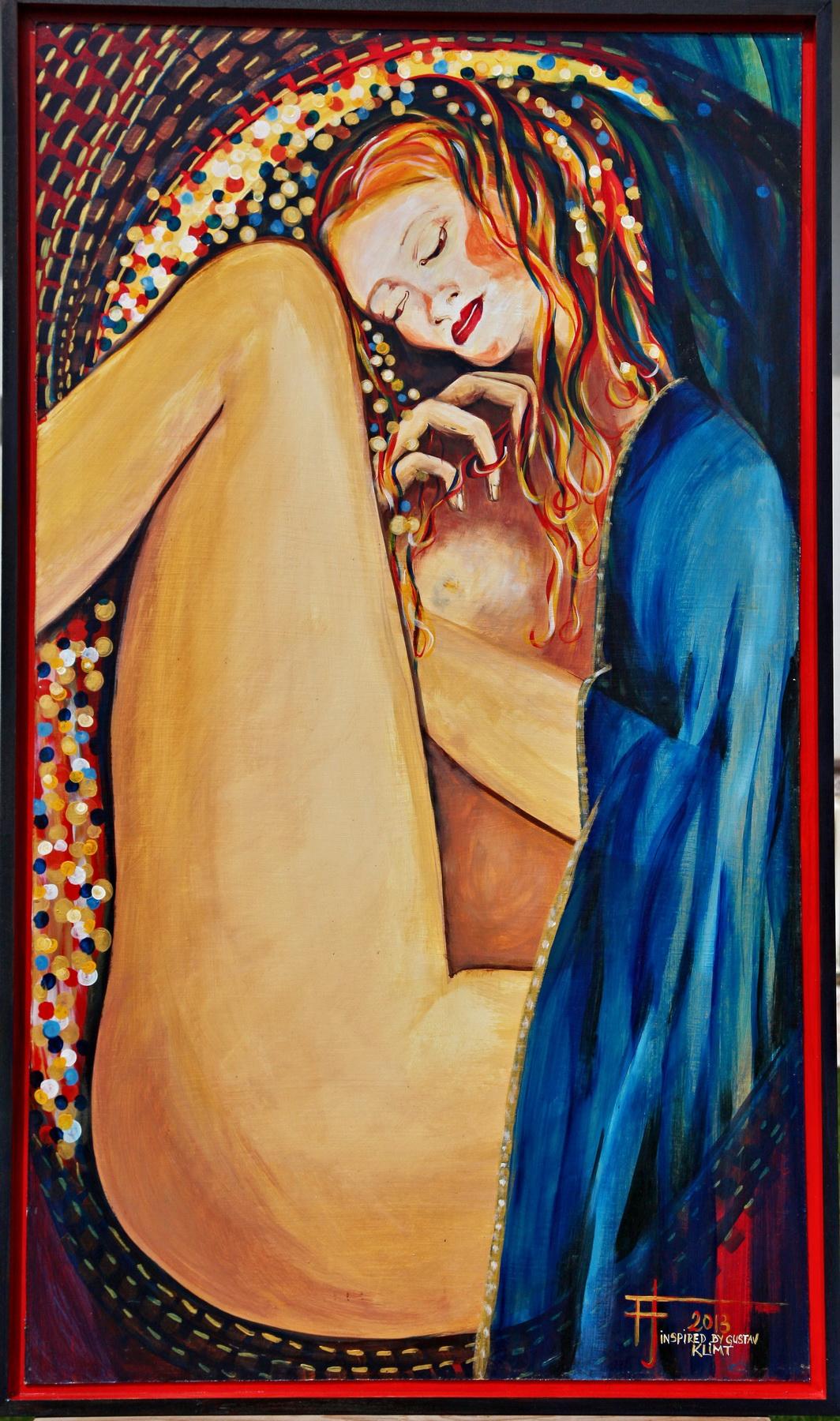 Tenderness à la Gustave Klimt