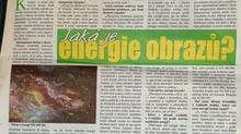 Energie v obrazech: měřeno psychotronikem.